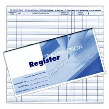 Check Registers Vs Online Banking Balance How Much Money Do You