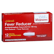 Walgreens Childrens Fever Reducer Rectal Suppositories