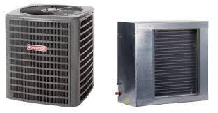 goodman coil. goodman 4 ton 16 seer air conditioner model gsx160481 and horizontal slab evaporator coil cscf4860n6