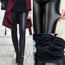 women y faux leather leggings slim hip push up pants skinny stretch clubwear 9 9 of 11 see more