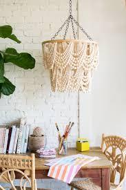 beach house chandeliers lovely amelia indoor outdoor wood bead chandelier lighting ideas