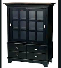 black wood storage cabinet. Tall Black Wood Storage Cabinet With Door Doors O