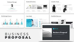 Business Proposal Powerpoint Business Proposal Powerpoint Presentation Template Portfolio Real Estate Minimal Minimalist Minimalism Powerpoint Printable Custom