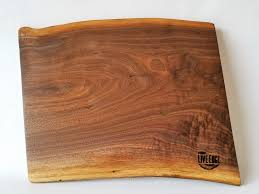 cutting board with food. Large Wood Server- Serving Board- Charcuterie Food Black Walnut- Safe- Tapas- Bread Cutting Gift For Chef Board With