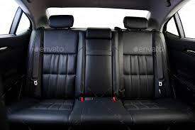 car interior back seat.  Interior Back Seats Of Modern Luxury Car Interior Black Leather Stock Photo By  Gargantiopa Inside Car Interior Back Seat Photodune