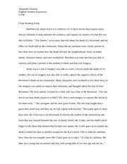 journal entry self expression auto bio descriptive writing  4 pages english essay dubliners close reading essay