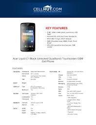 Acer Liquid C1 Black Touchscreen GSM ...