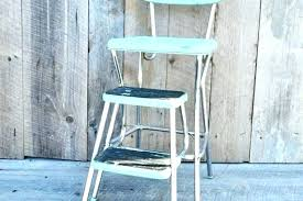 cosco chair stool kitchen step stool chair step stool chair aqua step stool chair vintage kitchen