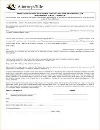 Contract Forms For Construction General Contractor Contract Forms Construction Contract Agreement