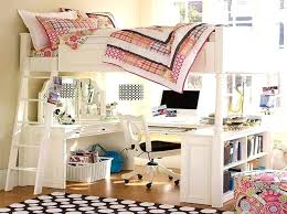 loft beds with desk to build a loft bed with desk underneath with white color how