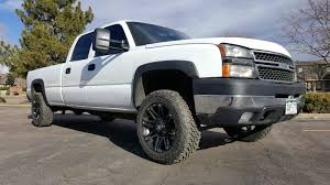 2006 Chevy Silverado 2500hd 6.0 Auto Crew Cab Longbed 4×4 Lift Kit ...