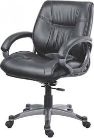 office chair picture. Lakdi Mid Back Premium Finish Leatherette Office Executive Chair Picture