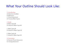 Speech Outline Format 8 9 Outline Format For Speeches Aikenexplorer Com