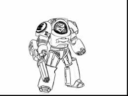 Small Picture marvelous space marine coloring pages with robot coloring page