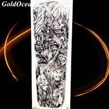 Body Art Drawing Temporary Tattoo Stickers Statue Of Liberty Hourglass Girl Sketch Goddness Men Tattoo Women Wing Leg Arm Tatoo
