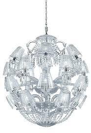 baccarat crystal chandeliers baccarat crystal chandelier baccarat crystal solstice crystal chandelier 8 light baccarat crystal chandelier
