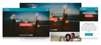 apartment website design. Pixel Perfect Design Apartment Website