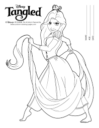 Small Picture Rapunzel Coloring Book Coloring Coloring Pages