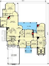 master bedroom suite layout. Luxurious Master Bedroom Suite - 83379CL Floor Plan Main Level Layout