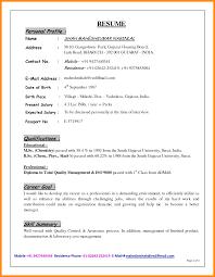 Esume Profile Example Professional Profiles Sentences Jobsxs Com