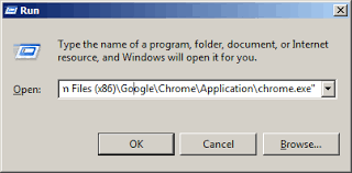 Configuring Chrome to open the Doc/Index.html file