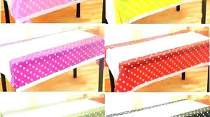disposable table cloth disposable round tablecloths outstanding polka dot plastic table cloth kids with