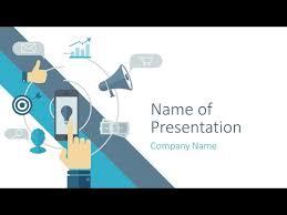 Digital Marketing Powerpoint Template Presentationdeck Com Youtube