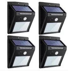 philippines 20 led solar lights outdoor waterproof solar motion sensor light wireless lights outside wall lamp