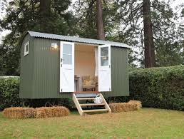 build a garden office. Shedworking: Build Your Own Shepherd\u0027s Hut Garden Office Using A Kit L
