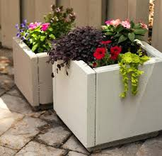 large cement planters large concrete planters planter boxes rectangle white pot with red pink and large large cement planters