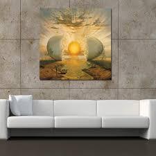 <b>Salvador Dali</b> Famous Surreal <b>Sunrise</b> Canvas Painting Print Living ...