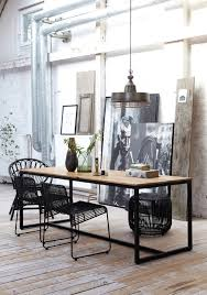 Industrial Dining Room Table Industrial Dining Room Ideas Industrial Look Dining Room