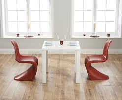 dining furniture atlanta. atlanta 80cm white high gloss dining table with verner panton style s chairs . furniture v