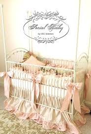 white and pink baby bedding custom baby bedding baby girl bedding in silk signature silk collection white and pink baby bedding