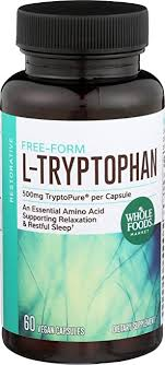 Whole Foods Market, L Tryptophan 500mg, 60 ct ... - Amazon.com