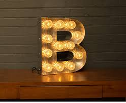 lighting letters. light up marquee bulb letters a to z lighting l