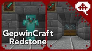 minecraft armor stand door gepwin s redstone tutorials