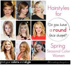 best hairstyles for spring seasonal color women with round face shape the best makeup contouring just for you