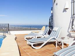 dénia villa al upper level pool area which boasts wonderful panoramic views