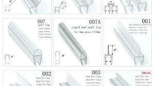 shower door rubber strip shower seal strip trend magnetic shower door seal strip plastic and gasket shower door