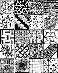 Official Zentangle Patterns Simple Decoration