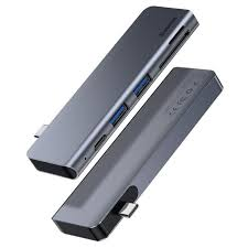 <b>USB концентратор Baseus Harmonica</b> 5-in-1 HUB Adapter ...
