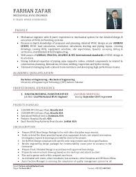 Senior Mechanical Engineer Resume – Foodcity.me