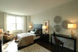 image of modern bedroom wall decor contemporary