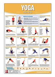 Pdf Download Yoga Asana Poster Chart Laminated Yoga