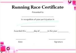 Fun Run Certificate Template Winner Certificate As Elegant Top Result Fun Run Of