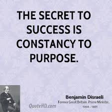 Quotes About Purpose Delectable Benjamin Disraeli Quotes QuoteHD