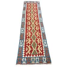 handmade flat weave kilim runner