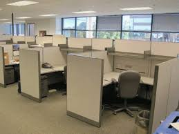 cubicle for office. love this cubicle height for office t