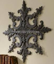 Small Picture Wall Art Ideas Design Horchow Orbate Medallion Outdoor Wall Art